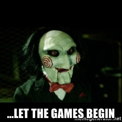 JIGSAW CREEPY PUPPET - ...let the games begin