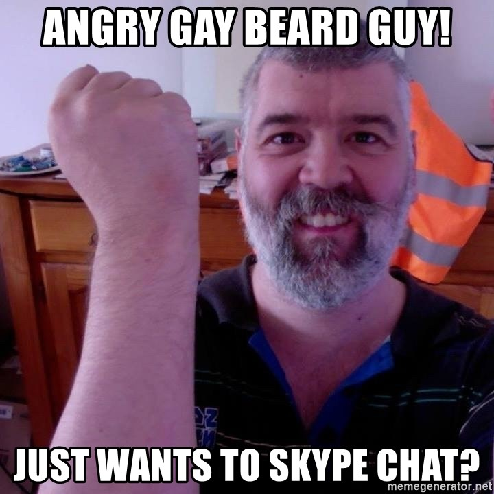 Gay skype chat
