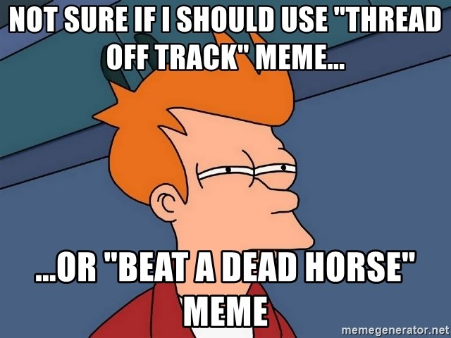 Image result for thread off track