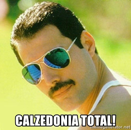 typical Queen Fan - calzedonia total!