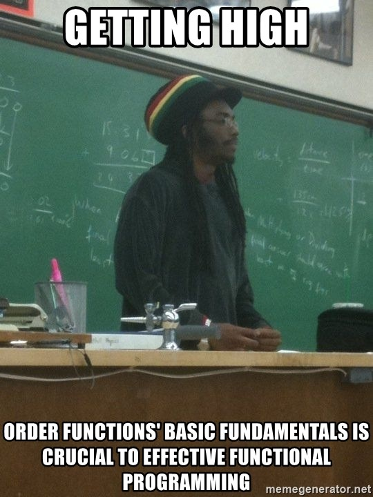GETTING HIGH ORDER FUNCTIONS' BASIC FUNDAMENTALS IS CRUCIAL