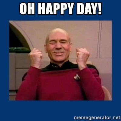 58761601 oh happy day! captain picard so much win! meme generator