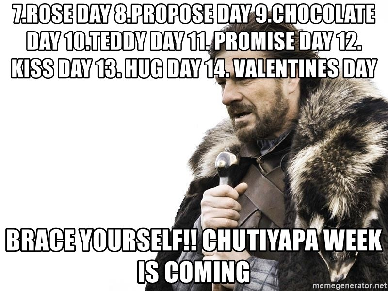 7rose Day 8propose Day 9chocolate Day 10teddy Day 11 Promise