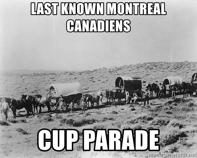 Image result for montreal stanley cup parade