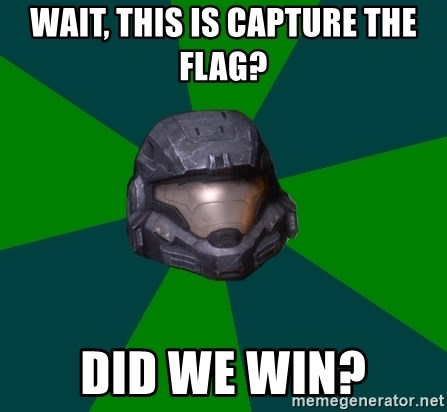 Halo Reach - Wait, this is capture the flag? Did we win?