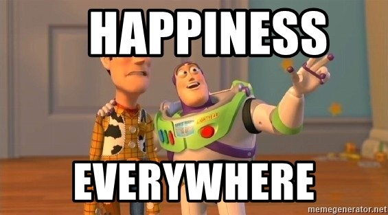 Consequences Toy Story -    Happiness   Everywhere