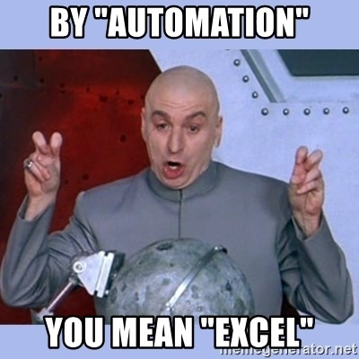 Image result for automation meme