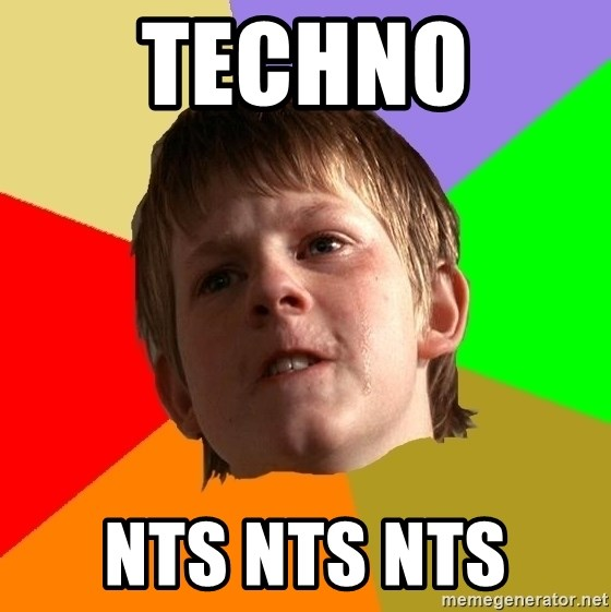 Angry School Boy - Techno  Nts Nts Nts