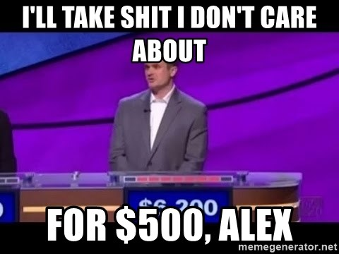 Image result for alex jeopardy who cares