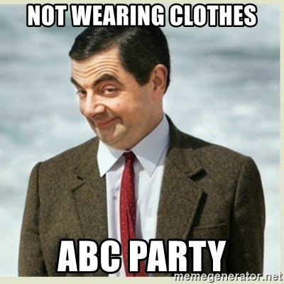 What do you wear to an abc party
