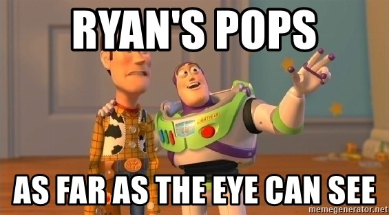buzz as far as the eye can see - RYAN'S POPS AS FAR AS THE EYE CAN SEE