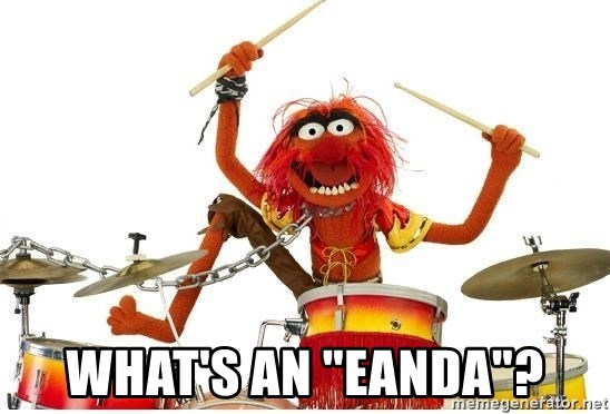 "animal drums -  What's an ""eanda""?"