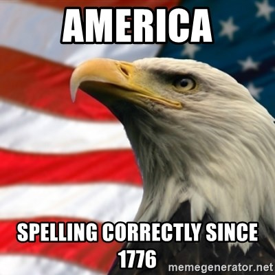 MURICA EAGLE - America spelling correctly since 1776