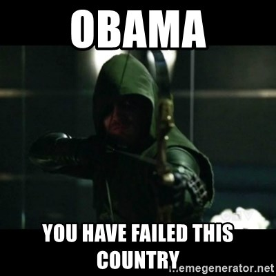 YOU HAVE FAILED THIS CITY - obama you have failed this country