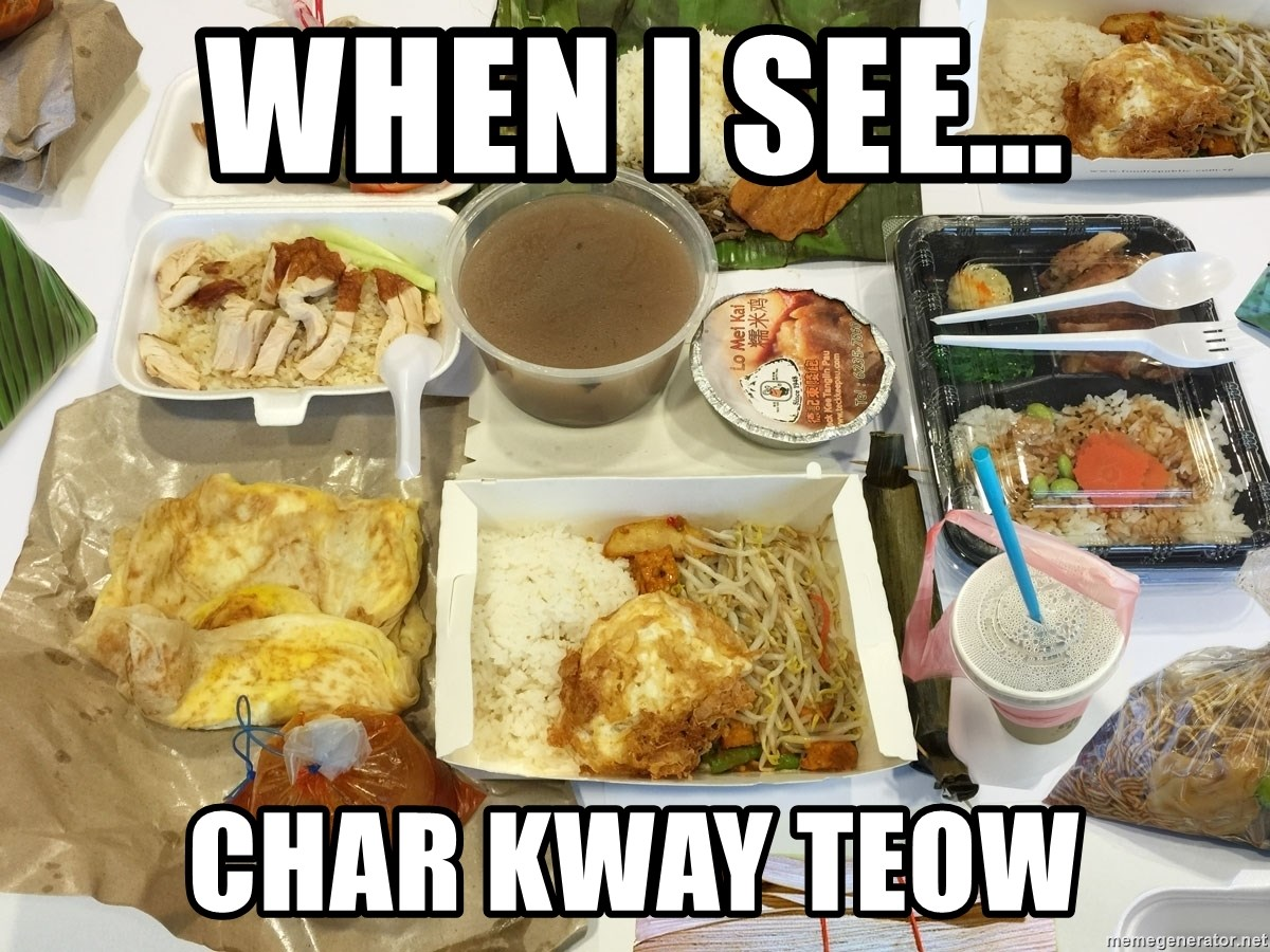 Takeaway - When I see... Char Kway Teow
