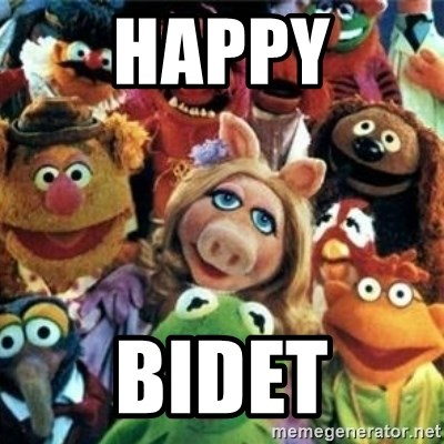 Happy Bidet The Muppets Meme Generator