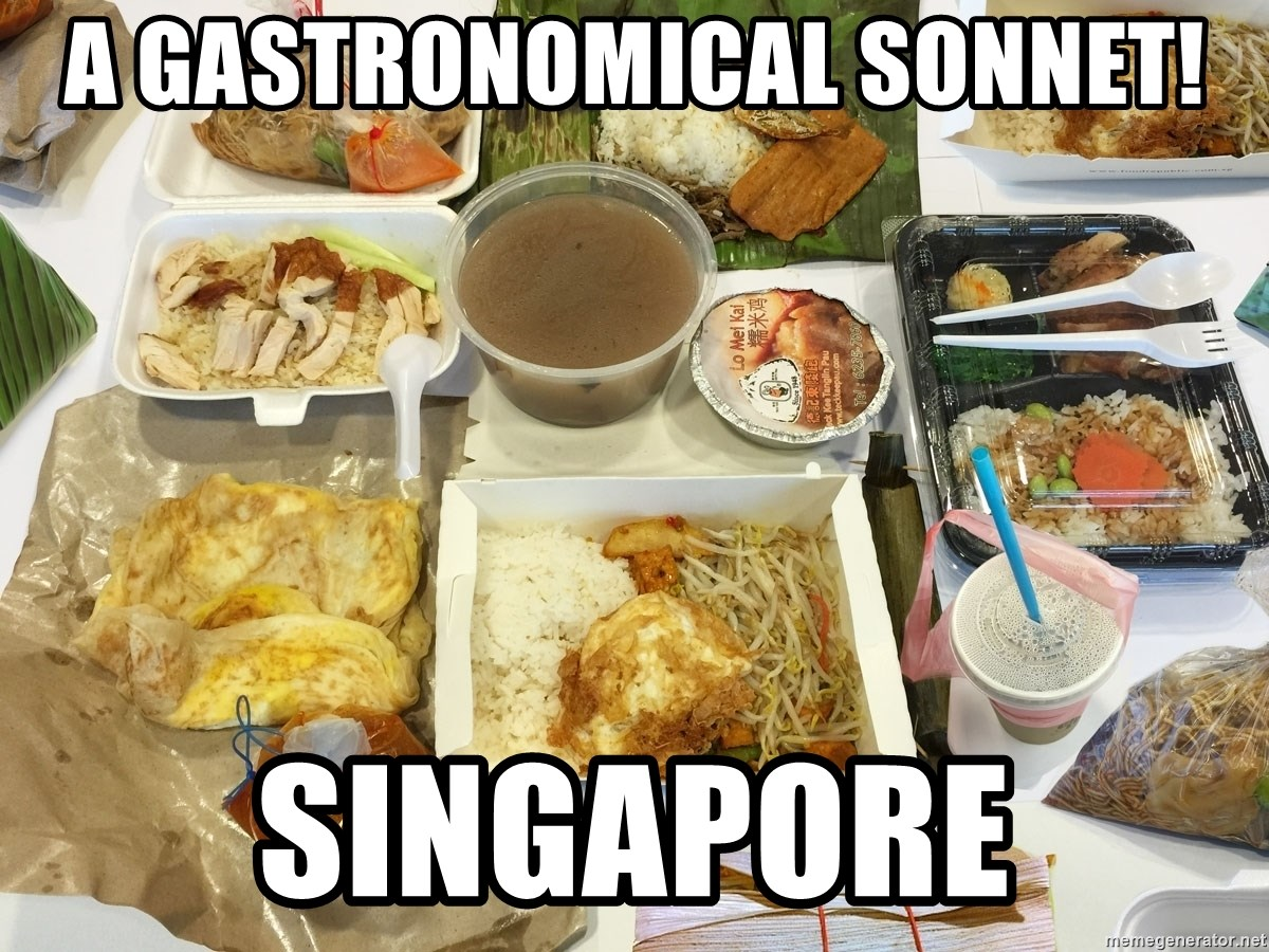 Takeaway - A gastronomical sonnet! Singapore