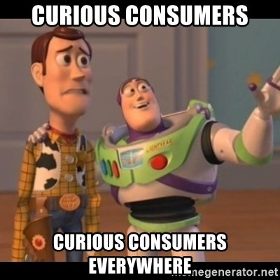 Toy Story buzz - Curious consumers curious consumers everywhere