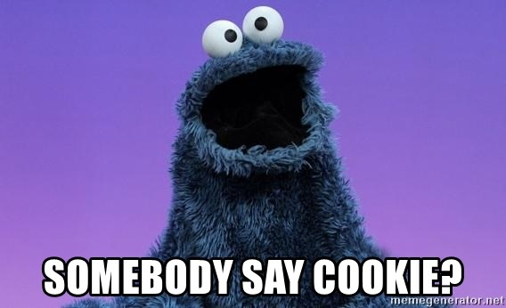 Cookie Monster Advice - somebody say cookie?