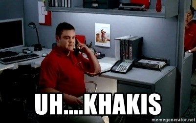 Jake From State Farm - Uh....Khakis
