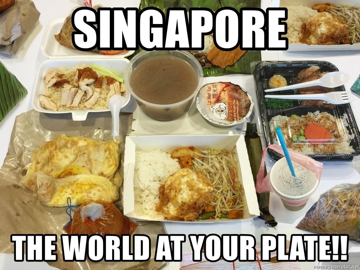 Takeaway - Singapore The world at your plate!!