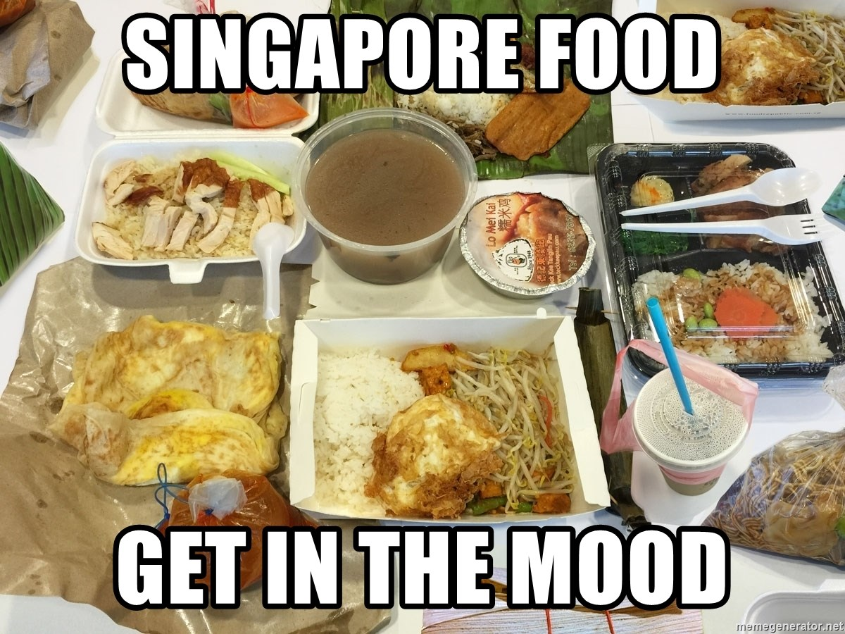 Takeaway - SINGAPORE FOOD gET IN THE MOOD