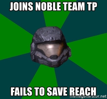 Halo Reach - Joins Noble team tp Fails to save reach