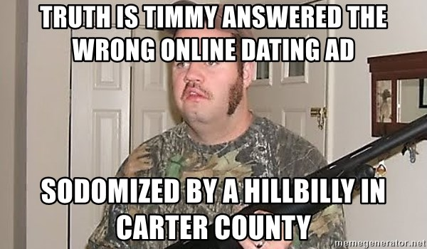 Redneck dating application
