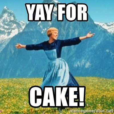 Yay For Cake Sound Of Music Lady Meme Generator With tenor, maker of gif keyboard, add popular yay meme animated gifs to your conversations. yay for cake sound of music lady