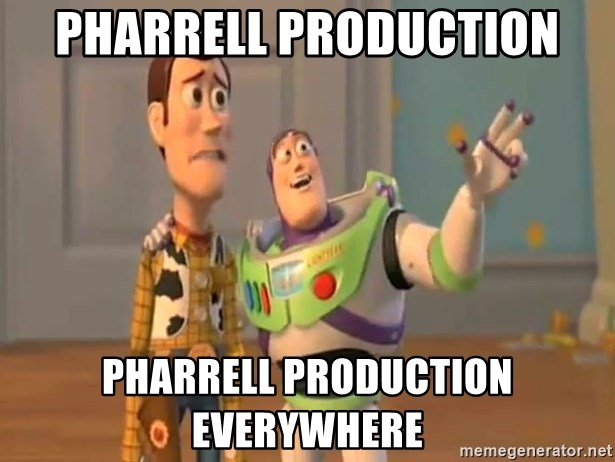 X, X Everywhere  - pharrell production pharrell production everywhere