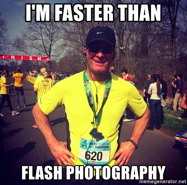 MikeRossiCheat - i'm faster than flash photography