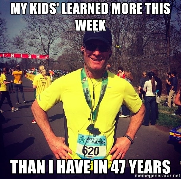 MikeRossiCheat - My kids' learned more this week Than I have in 47 years