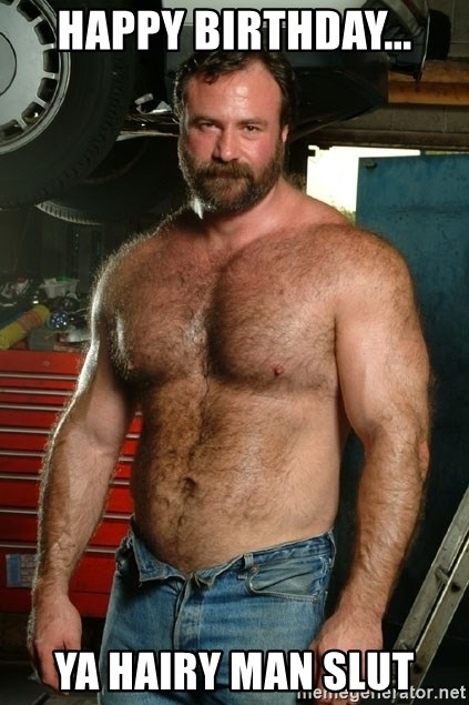 Bear hairy man picture