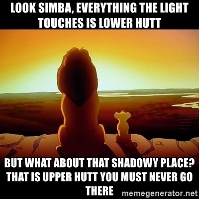 Look Simba Everything The Light Touches Is Lower Hutt But What