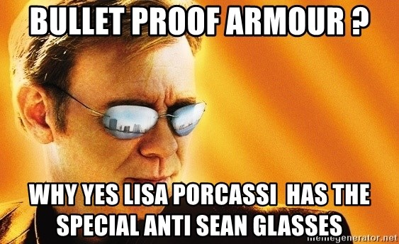 Bullet Proof Armour Why Yes Lisa Porcassi Has The Special Anti