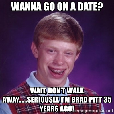 Image result for walk away from a date meme