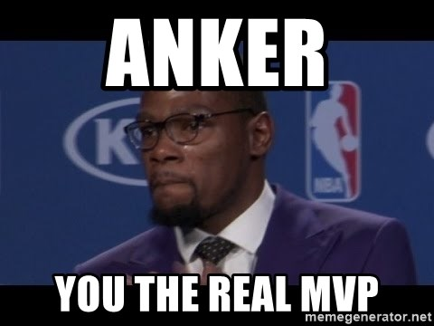 Kevin Durant MVP - Anker  You the real MVP