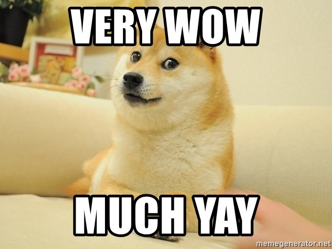 Very Wow Much Yay Doge Meme Meme Generator New memes dankest memes funny memes meme pictures reaction pictures make your own memes humor new memes jokes meme meme meme pictures reaction pictures pokemon card. very wow much yay doge meme meme