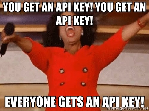 how to get api key