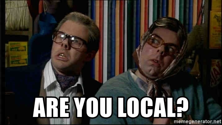 Edward and Tubbs - ARE YOU LOCAL?