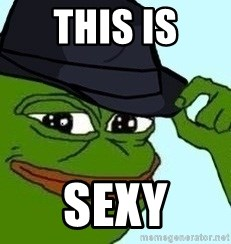 Sexy Pepe The Frog