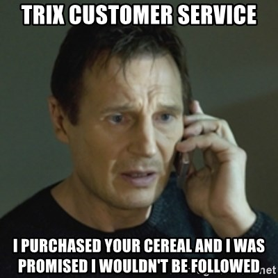63506867 trix customer service i purchased your cereal and i was promised i