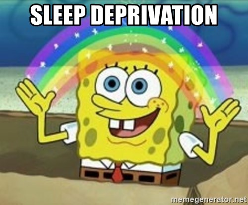 Spongebob - Sleep deprivation