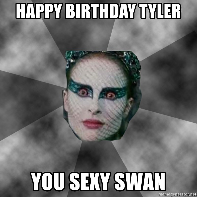 Happy birthday sexy eyes