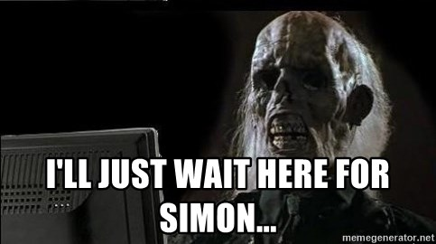 OP will surely deliver skeleton -  I'll just wait here for simon...