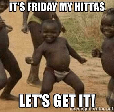 Success African Kid - IT'S FRIDAY MY HITTAS LET'S GET IT!