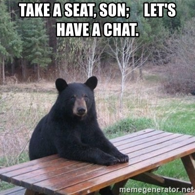 Have a Seat, Son