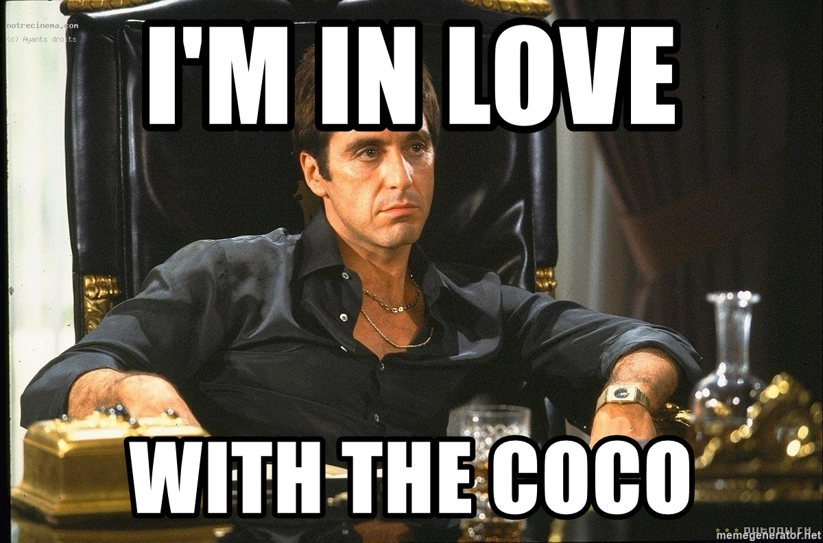 Tony Montana Scarface - i'm in love  with the coco