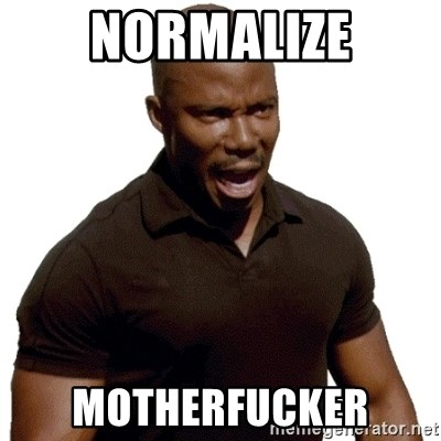 Doakes SURPRISE - normalize motherfucker