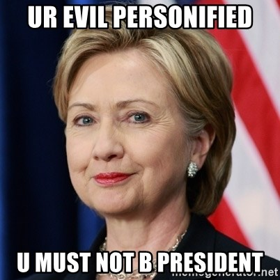 evil personified